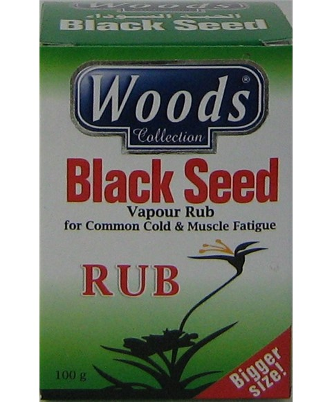 woods collection woods collection | Black Seed Vapour Rub