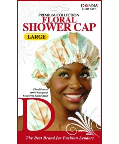 Premium Collection Floral Shower Cap 11025 Assort