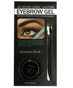 Matte Waterproof 24 Hours Eyebrow Gel Charcoal Black