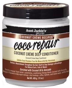 Aunt Jackie Coco Repair Coconut Creme Deep Conditioner