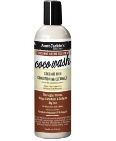 Aunt Jackie Coco Wash Coconut Milk Conditioning Cleanser