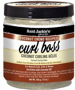 Aunt Jackie Curl Boss Coconut Curling Gelee