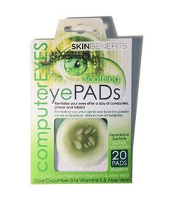Skin Benefits Soothing Cool Cucumber Eye Pads
