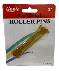 Annie 12 Metal Poller Pins 3197