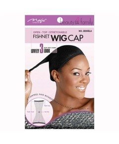 Magic Collection Stretchable Fish Net Wig Cap