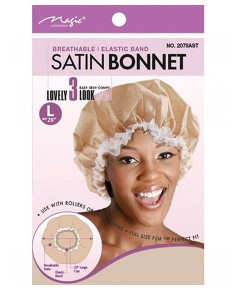 Magic Collection Breathable Satin Bonnet 2078AST