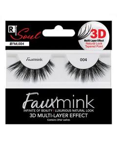 Response Soul Faux Mink 3D Effect Eyelash 004