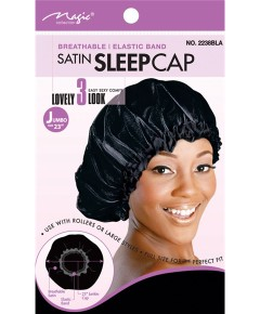 Magic Collection Satin Sleep Cap