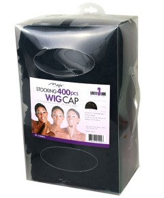 Magic Collection Stocking Wig Cap 01402BLA