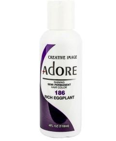 Adore Shining Semi Permanent Hair Color Rich Eggplant