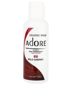 Adore Shining Semi Permanent Hair Color Wild Cherry