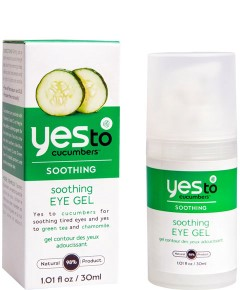 Cucumbers Soothing Eye Gel