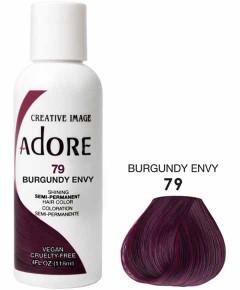 Adore Shining Semi Permanent Hair Color Burgundy Envy