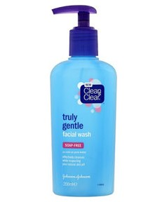 Clean and Clear Truly Gentle Facial Wash