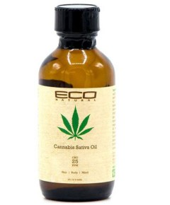 Eco Natural Cannabis Sativa Hair And Body Oil