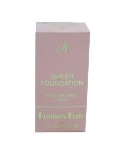 Fashion Fair Sheer Foundation