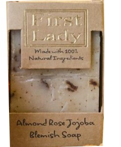First Lady Almond Rose Jojoba Blemish Soap