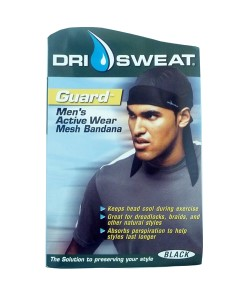 Dri Sweat Guard Mens Active Wear Mesh Bandana