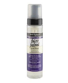Aunt Jackies Curls And Coils Grapeseed Style And Shine Recipes Anti Poof Setting Mousse