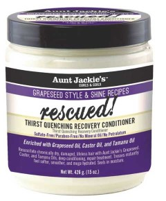 Aunt Jackies Curls And Coils Grapeseed Style And Shine Recipes Thirst Quenching Recovery Conditioner