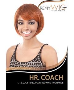 Motown Tress HH HR Coach Remy Wig