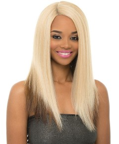 Natural Super Flow Deep Part Syn May Lace Wig