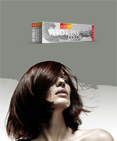 Vero K Pak Age Defy Copper Gold Permanent Creme Color