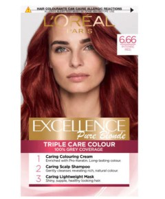 Excellence Creme Color 6.66 Intense Red
