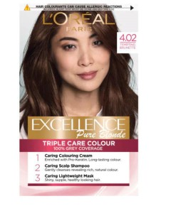 Excellence Creme Color 4.02 Tempting Brunette