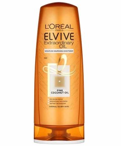 Elvive Extraordinary Oil Weightless Nourishing Conditioner With Fine Coconut Oil