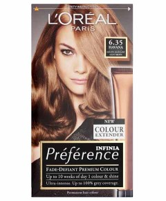 Preference Infinia Permanent Colour 6.35 Havana Golden Mahogany Light Brown