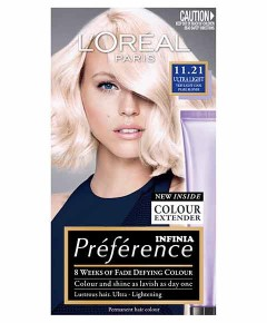 Preference Infinia Permanent Colour 11.21 Ultra Light Pearl Blonde