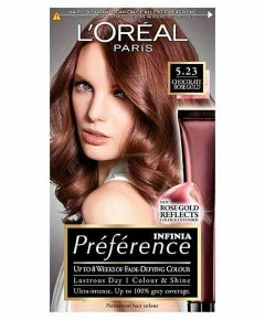 Preference Infinia Permanent Colour 5.23 Chocolate Rose Gold