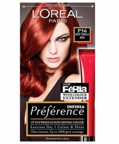 Preference Infinia Permanent Colour P56 Hot Chilli Red