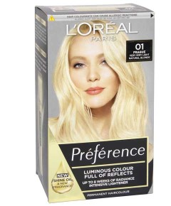 Preference Infinia Permanent Colour 01 Natural