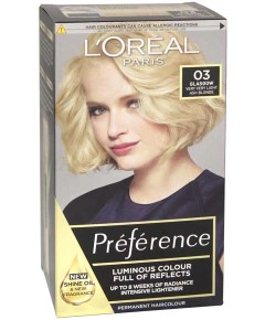 Preference Infinia Permanent Colour 03 Lightest Ash Blonde