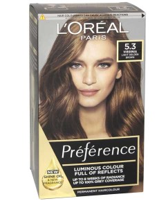Preference Infinia Permanent Colour 5.3 Virginia Chestnut Brown