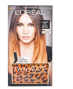 Preference Permanent Colour Ombre N 1 For Light Brown To Dark Brown