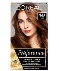 Preference Infinia Permanent Colour 6.35 Havana Golden Mahogany Brown