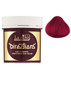Directions Semi Permanent Conditioning Hair Colour Vermillion Red