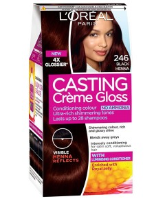 Casting Creme Gloss Conditioning Colour 246 Black Henna