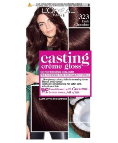 Casting Creme Gloss Conditioning Colour 323 Dark Chocolate