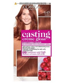 Casting Creme Gloss Conditioning Colour 645 Amber