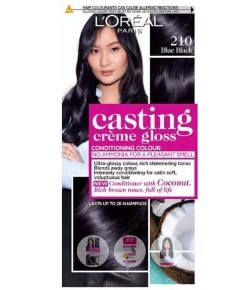 Casting Creme Gloss Conditioning Colour 210 Blue Black