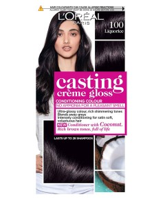 Casting Creme Gloss Conditioning Colour 100 Liquorice