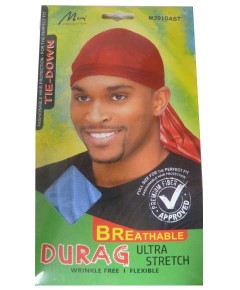 Murry Collection Breathable Durag Ultra Stretch M3910AST