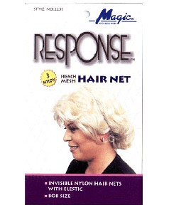 Magic Collection Response French Mesh Hair Nets