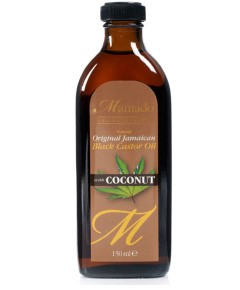 Natural Original Jamaican Black Castor Oil With Coconut