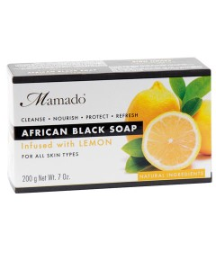 African Black Soap Infused With Lemon