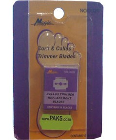 Magic Collection Corn and Callus Trimmer Blades CU2B